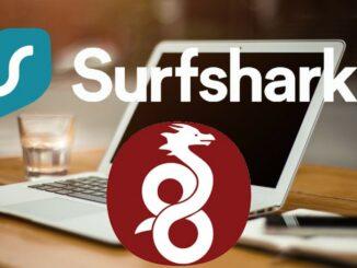 Surfshark VPN with Wireguard