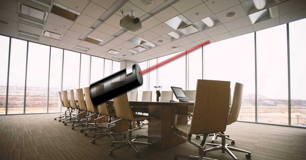 Use and Configure the Laser Pointer that Integrates PowerPoint