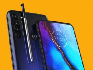 First Features of the Moto G Pro 2021