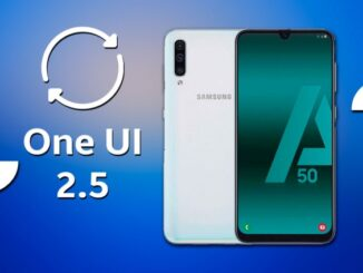 Samsung Galaxy A50 to One UI 2.5