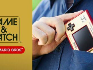 Jeu et montre Nintendo