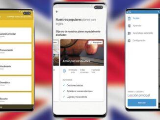 Aplicația pentru Android Rosetta Stone