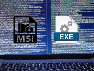 Differences Between Executable MSI and EXE Files