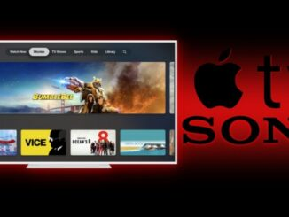 Nya Sony-tv Gå med i Apple TV