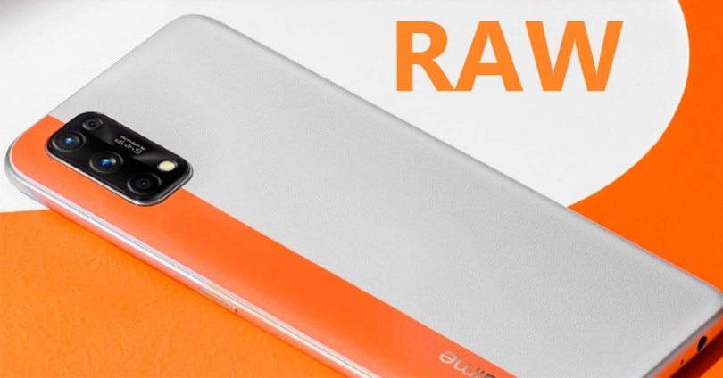 Activate the RAW Mode in the Camera of a Realme