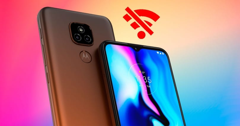 Motorola Mobile Disconnects Only from the Wifi