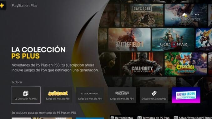 Share Access to PS Plus Collection