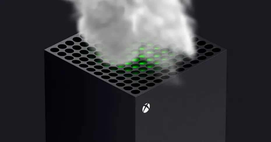Fumée Xbox Series X