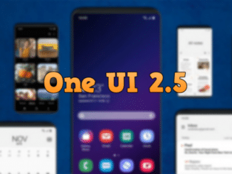 One UI 2.5 Update for Galaxy A31