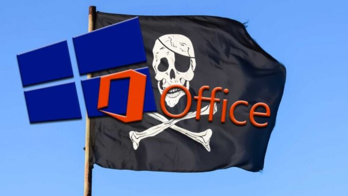 Pirated Versions of Office and Windows