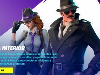 Fortnite The Spy Within