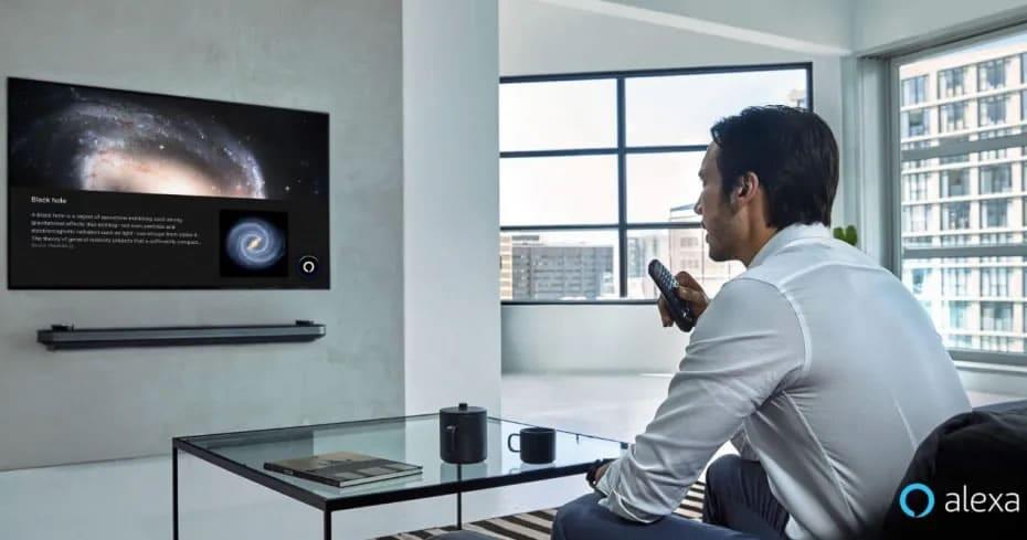 Alexa on a Smart TV