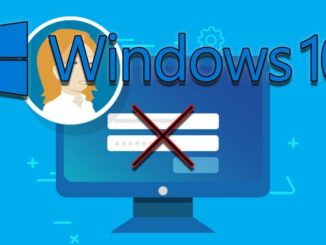 Remove Password from Windows 10 Startup