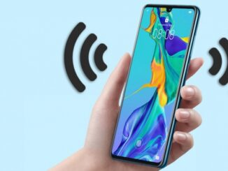 Hands-free of the Huawei P30