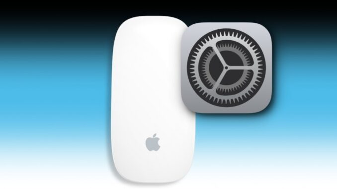 Change Magic Mouse Settings on a Mac