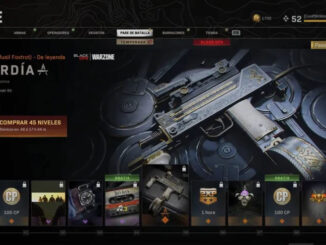 Buying weapons in Warzone
