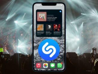 Shazam Widget på iOS Nu tillgänglig
