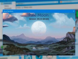 Pale Moon 29: News and Download