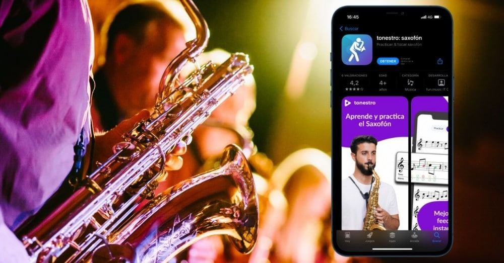 Applications for iPhone to Learn to Play the Saxophone