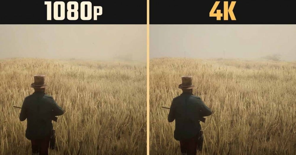 Advantages of Gaming 1080p vs 4K Resolution on PC