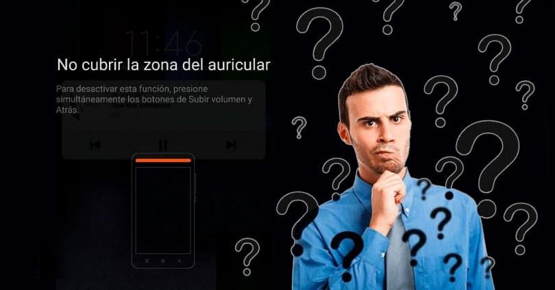 Nezakrývat oblast sluchátek mobilního telefonu
