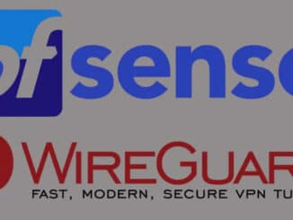 WireGuard VPN Server in pfSense