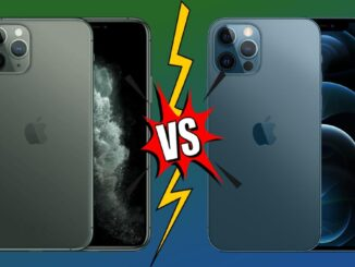 Comparison iPhone 11 Pro and iPhone 12 Pro