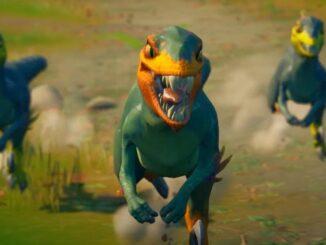 Tame Velociraptors and Dinosaurs in Fortnite
