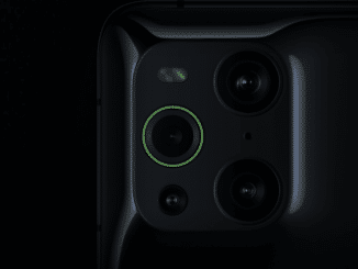 Microscope Lens of the new OPPO Find X3 Pro