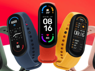 Comparison Between the Xiaomi Mi Band 6 and the Mi Band 5
