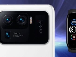 Xiaomi Mi 11 Ultra Uses the Screen of the Mi Band 5 in its Camera