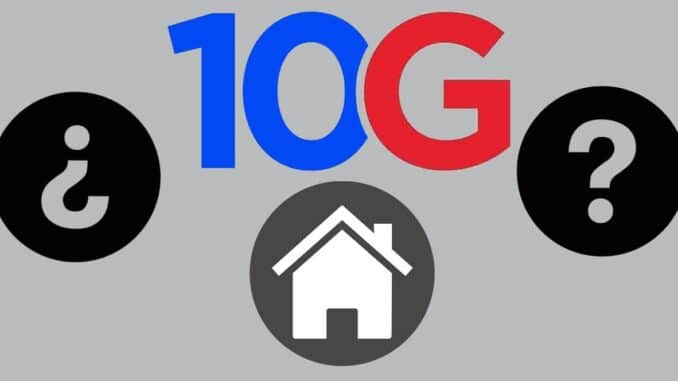 10G Network at Home
