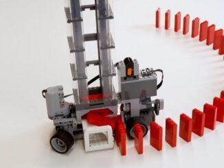 Effet Domino: Machine LEGO