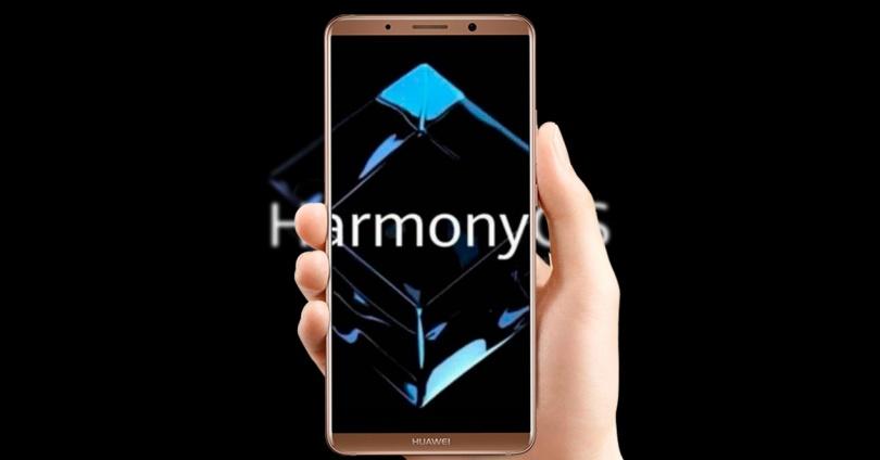 Video of HarmonyOS Running on the Huawei MateX2