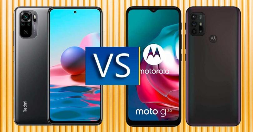 Redmi Note 10 vs Motorola Moto G30