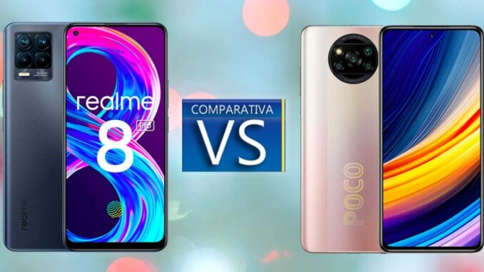 Comparison Between Realme 8 Pro and Poco X3 Pro