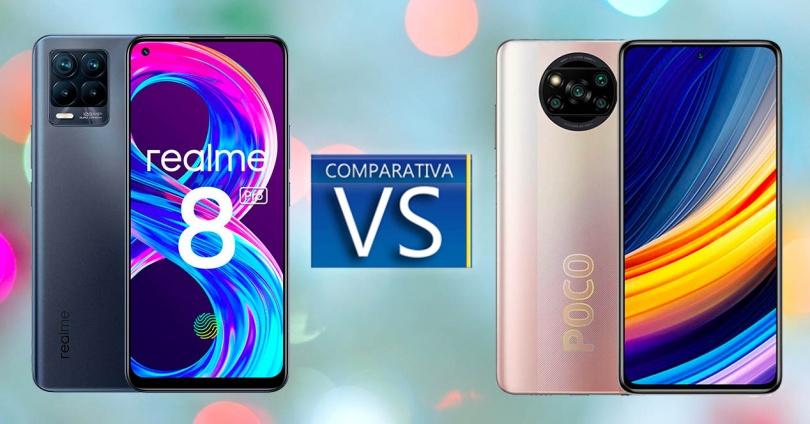 Comparison Between Realme 8 Pro and Poco X3 Pro