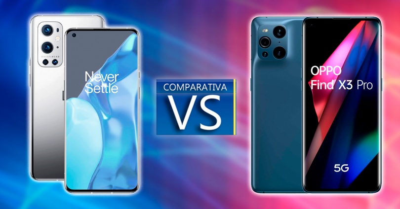 Comparison Between OnePlus 9 Pro and Oppo Find X3 Pro