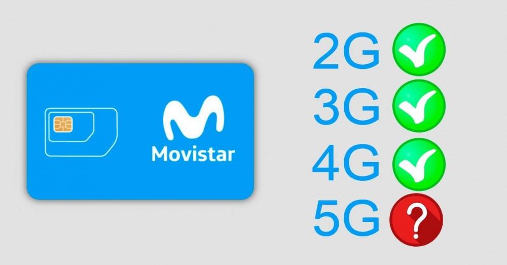 Hemmelig kode for at vide, om vi har Movistar SIM-kompatibelt med 5G