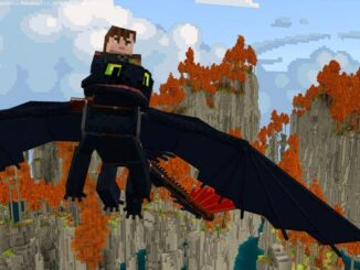 Minecraft DLC of How to Train Your Dragon
