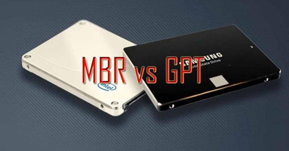 MBR vs GPT