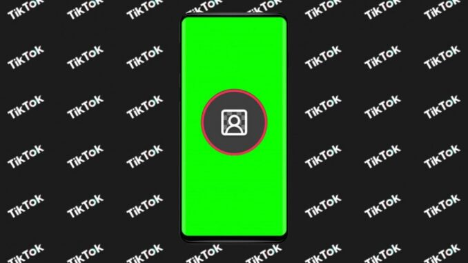Use the New Green Background Design on TikTok Duos