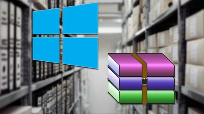 Open and Extract Compressed RAR Files in Windows 10