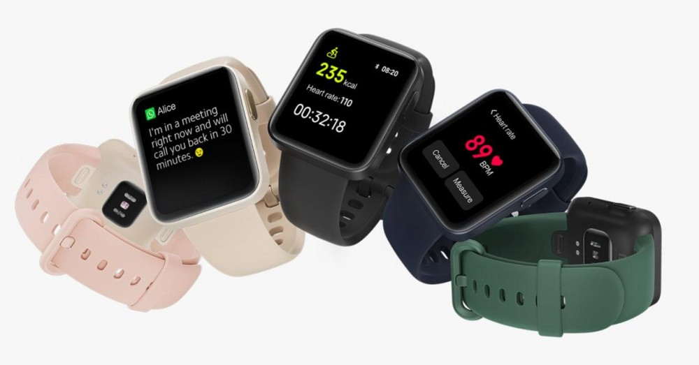 Straps Compatible with the Xiaomi Mi Watch Lite