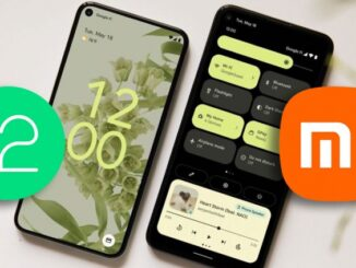Android 12 Beta in Xiaomi