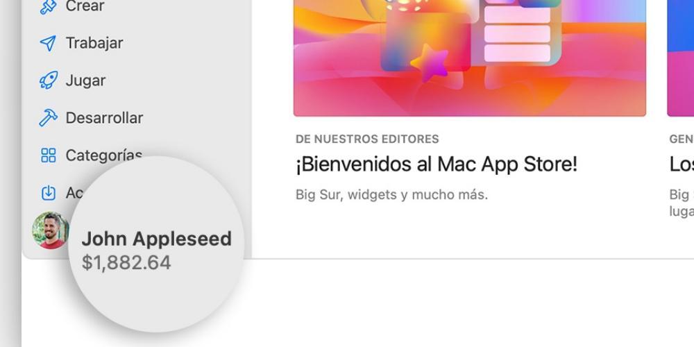 identifiant de solde apple mac