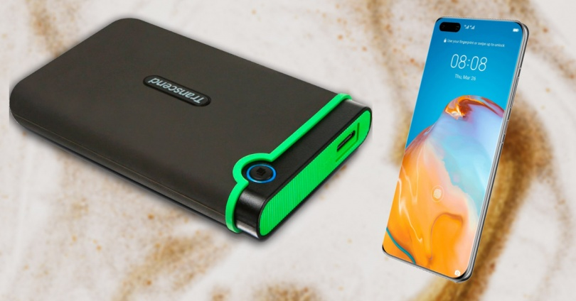 Connect an External Hard Drive to Your Mobile
