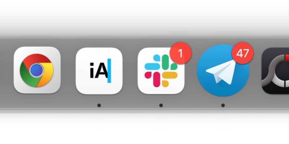 bulles de notification mac