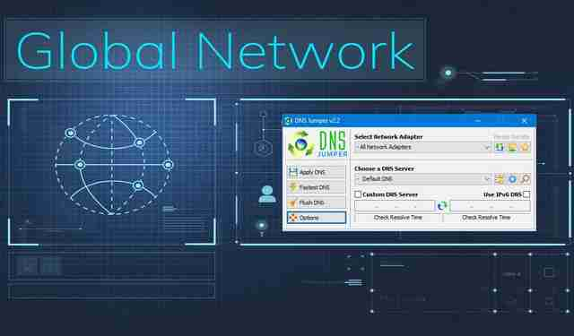 Find the Fastest DNS with DNS Jumper
