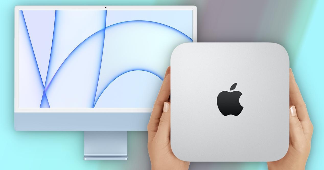 Mac mini contre iMac M1